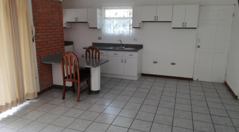 Area de sala-comedor-cocina
