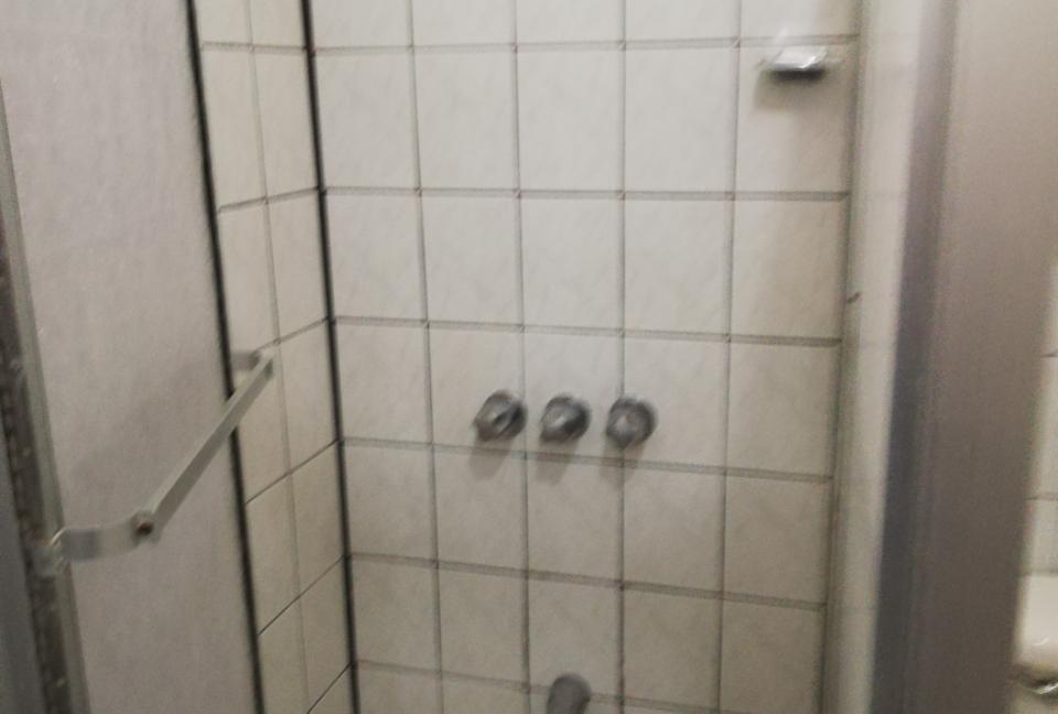 área de la ducha