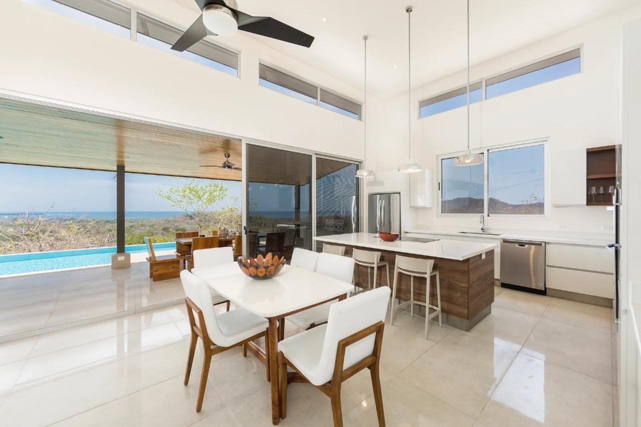 Casa con increíble vista en Playa Grande