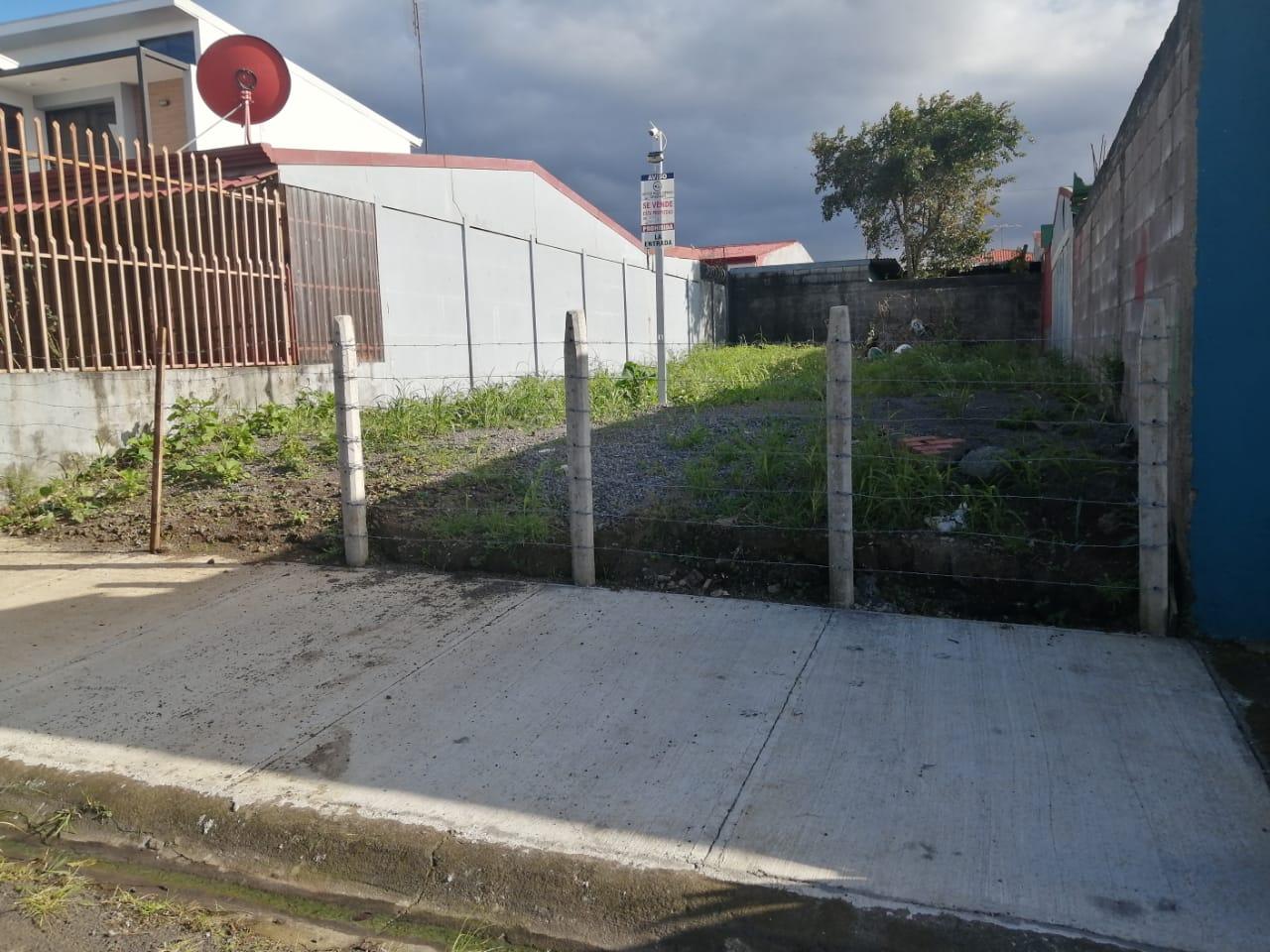 Venta de lote ubicado en San Rafael de Heredia