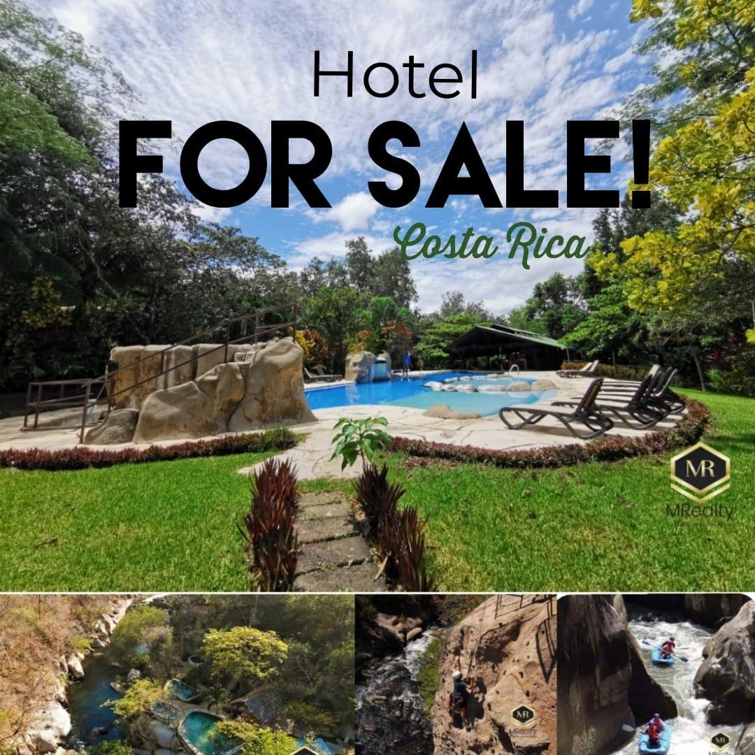 Venta de hotel ubicado en Liberia, Guanacaste. Oportunidad de inversión