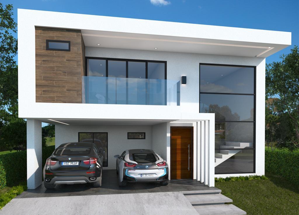 Venta de casa nueva con 4 habitaciones ubicada en condominio en Ulloa, Heredia.